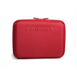 "FUNDA RIGIDA TABLETNETBOOK 10.1"" PRIMUX ROJO"