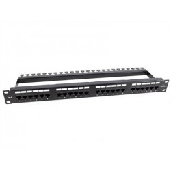 PATCH PANEL 24 PUERTOS UTP CAT6 MONOLYTH