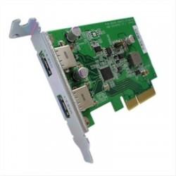 QNAP DUALPORT USB 3.1 PCIE CARD TYPE-A ·