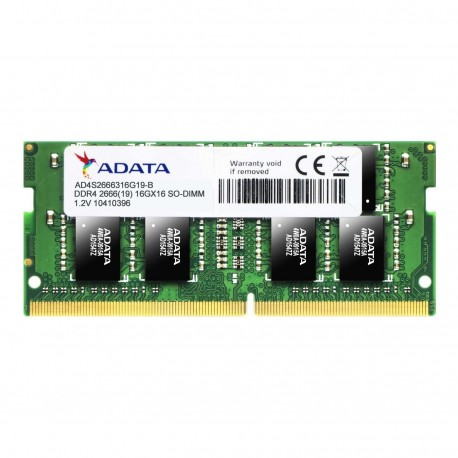 MEMORIA RAM ADATA AD4S266638G19-S DDR4 8GB 2·