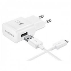 CARGADOR RAPIDO SAMSUNG 15W USB TIPO C BLAN·