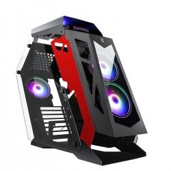 CAJA GAMING PRIMUX IOX PB-G950 CRISTAL TEMPLADO 6xVENTILADORES RGB