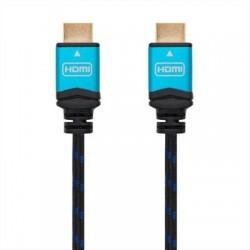 CABLE HDMI V2.0 4K 60HZ 18GBPS· AM-AM· NEGRO 1M NANOCABLE