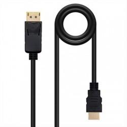 CABLE CONVERSOR DP A HDMI · MINI DPM-HDMIM· 2M NANO